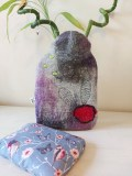 bouillottes-sèche-laine-feutrée-violet-gris-petales-