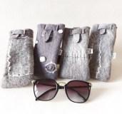étuis-laine-feutrés-x4-gris