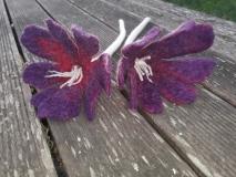 fleurs-laine-feutrée-passiflores-x2