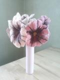 fleurs-laine-feutrée-rosées-x3