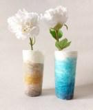 vases-recouverts-de-laine-feutrée-nature-et-bleu