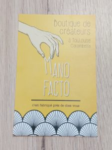 flyer Mano Facto colombette Toulouse
