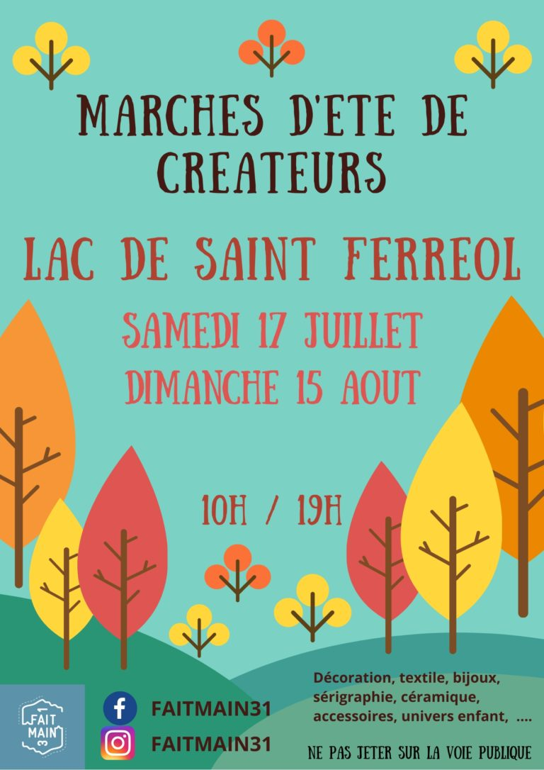 marché artisanal St Férréol